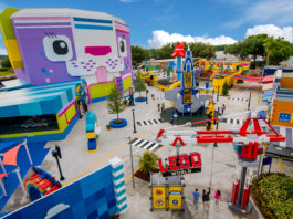 WINTER HAVEN, FL -- The LEGO Movie World at LEGOLAND Florida Resort. (PHOTO / LOCK + LAND, Chip Litherland for LEGOLAND Florida Resort)