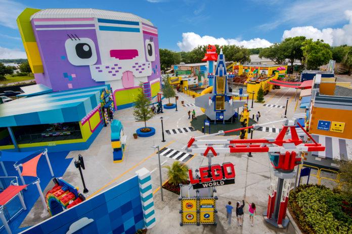 WINTER HAVEN, FL -- The LEGO Movie World at LEGOLAND Florida Resort. (PHOTO / LOCK + LAND, Chip Litherland for LEGOLAND Florida Resort)