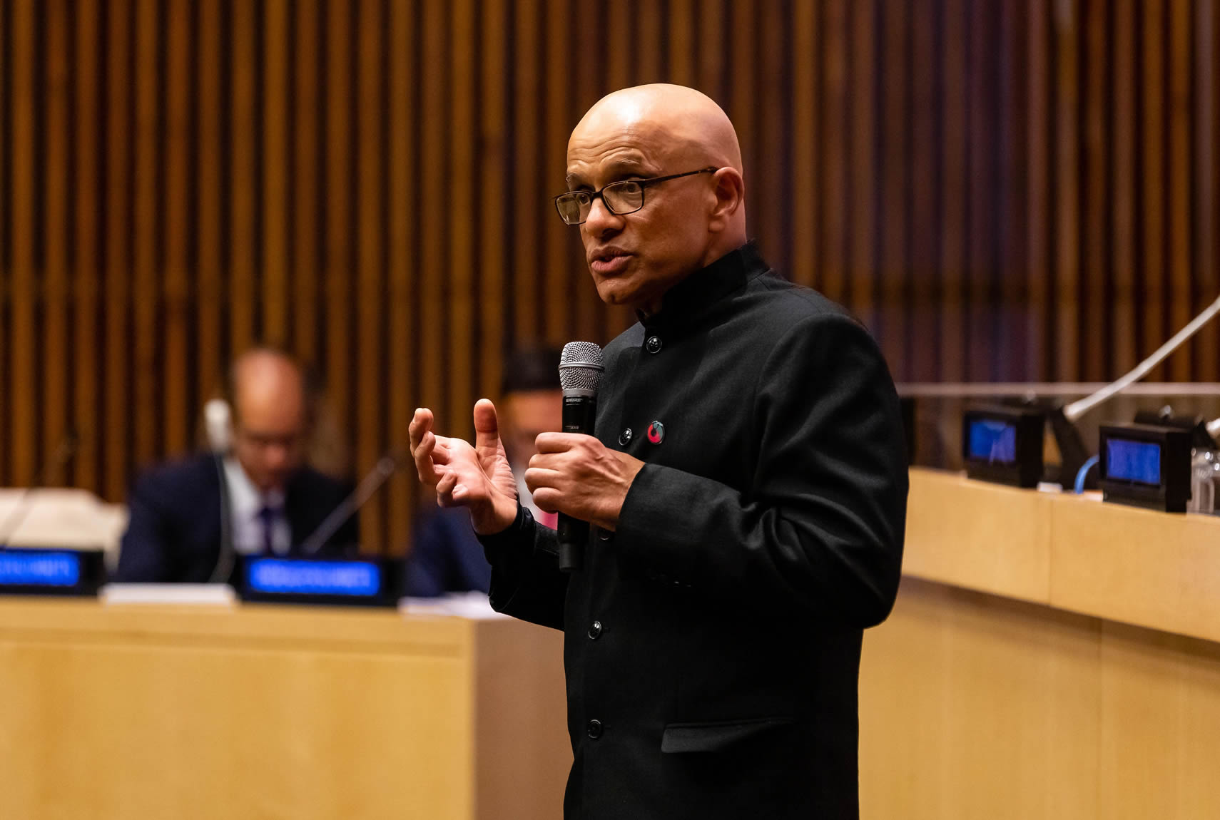 Atul Tandon advocates for women and girls at the United Nations