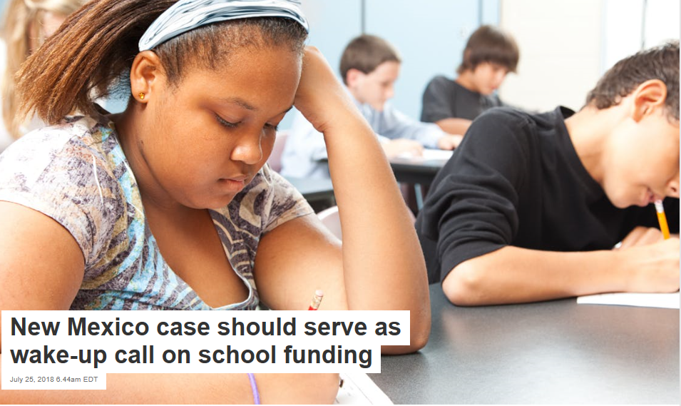 New Mexico Case Should Serve As Wake Up >> New Mexico Case Should Serve As Wake Up Call On School Funding