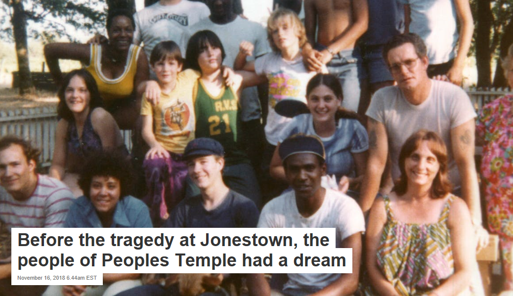 Before the tragedy at Jonestown, the people of Peoples Temple had a dream –  Life and News – Truth in Life and Journalism