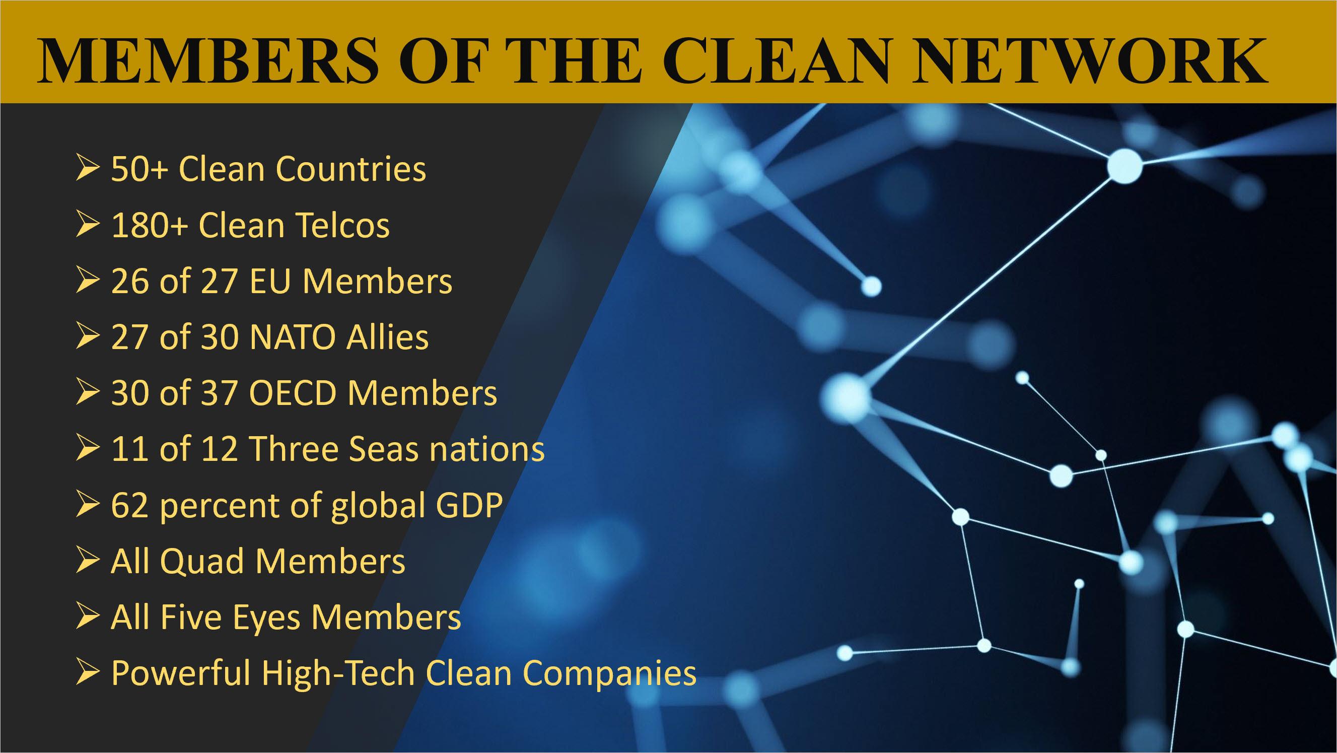 Clean Network Members
