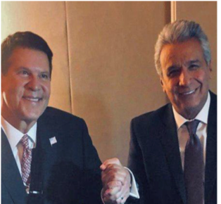 "Ecuador President Moreno: ""We support the principles of the Clean Network."""