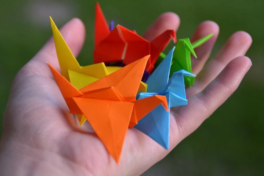 Schendo's Bad Grammar: Word of the Moment: Origami | 616x926