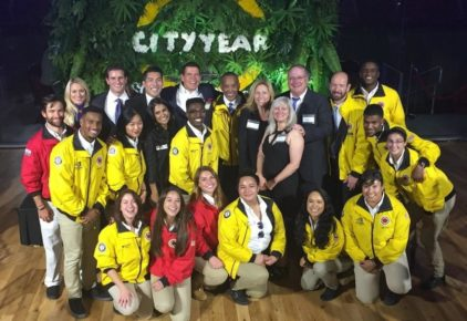 Team DocuSign at City Year's 2016 gala on National IMPACT Day