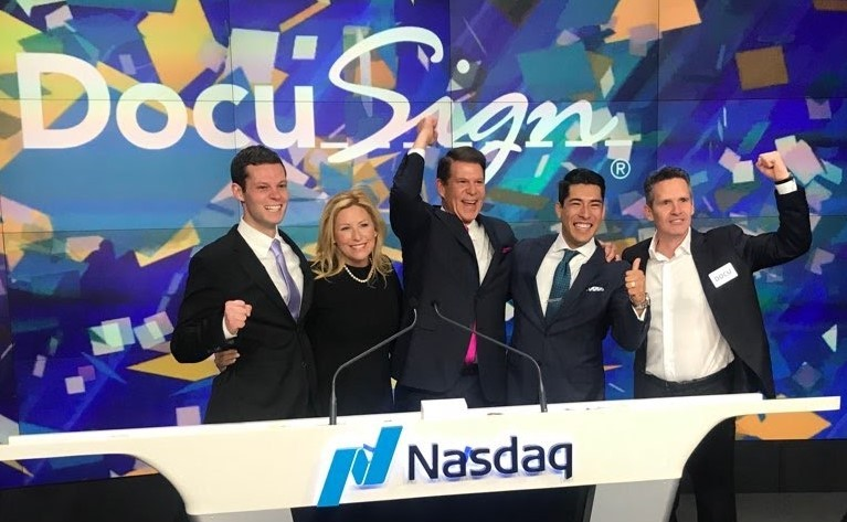 DocuSign IPO – April 27, 2018