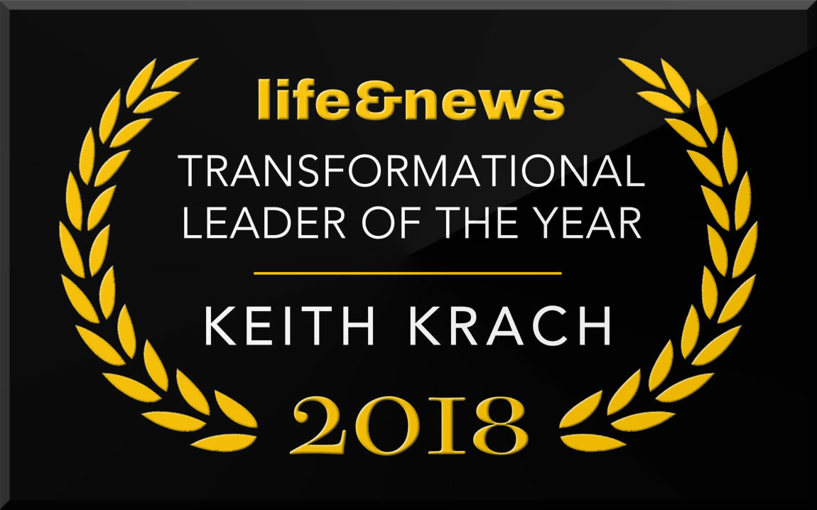 "Life & News names Keith Krach ""2018 Transformational Leader of the Year"""