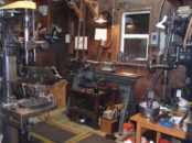 a machine shop similar to the one Krach worked in