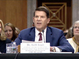 Keith Krach unanimously confirmed by Senate as Under Secretary of State